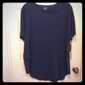 New No Boundaries blue men's 2X T-shirt